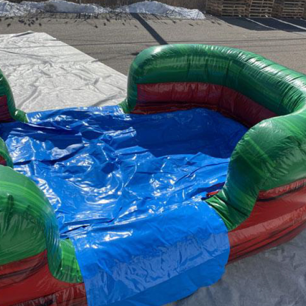 water ruby castle combo bounce slide combo inflatable party rentals michigan 5