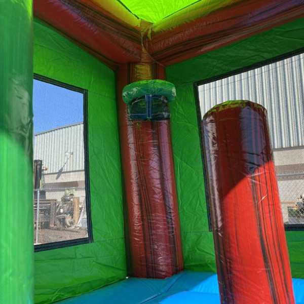 water ruby castle combo bounce slide combo inflatable party rentals michigan 6